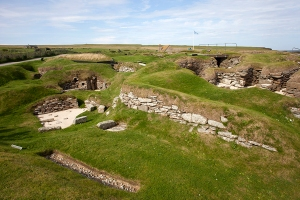 Neolithic Site at Scara Brae Orkney Islands
