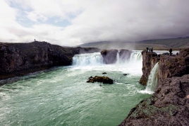 0209 Godafoss Waterfall in Iceland