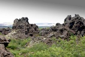 0272 Lava Fields at Dimmuborgir, Iceland