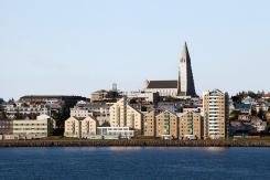 Modern Reykjavik and Cathedral
