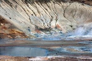 Seltun Geothermal Area Iceland