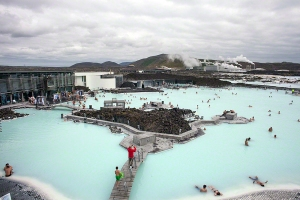 Blue Lagoon at Grindavik Iceland