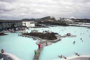 Blue Lagoon at Grindavik Iceland