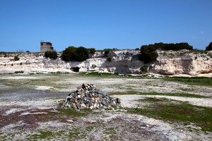 Limestone Quarry  Robben Island  South Africa