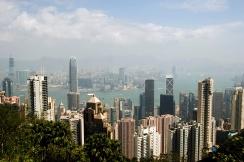 VIEW FROM PEAK, HONG KONG ISLAND, HONG KONG