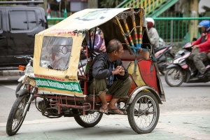 Trishaw Driver W