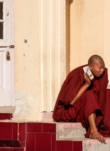 Monk and Mobile Phone