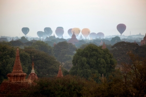 Ballons Over Bagan
