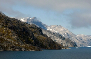 Scenery Prince Christian Sound  Greenland