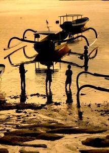 Lembongan Beach at Sundown W