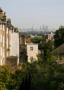 London from Gypsy Hill