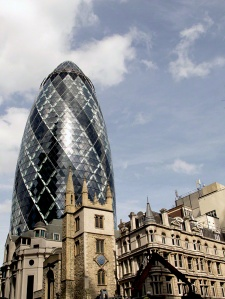 St Mary Axe  The Gherkin London