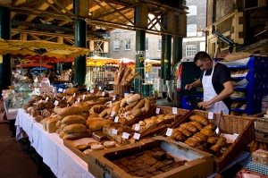 Bread Stall Borough Market London