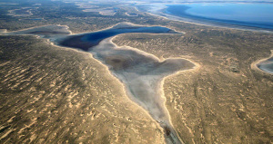 Lake Eyre Approach View