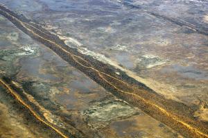 Parallel Sand Dunes Simpson Desert