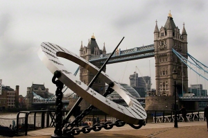 Thames Sundial and Tower Bridge London