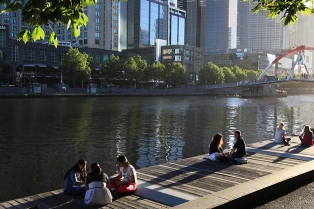 SUMMER IN THE CITY OF MELBOURNE