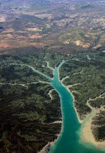 8999 Aerial near Mitchell Plateau W