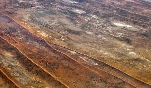 9183 Parallel Sand Dunes Gibson Desert W